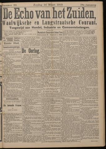 Echo van het Zuiden 1915-03-14