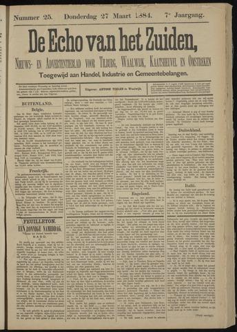 Echo van het Zuiden 1884-03-27