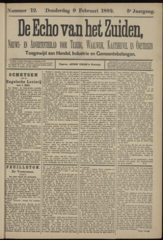 Echo van het Zuiden 1882-02-09