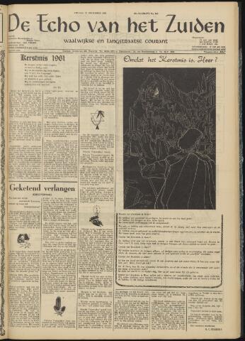 Echo van het Zuiden 1961-12-22