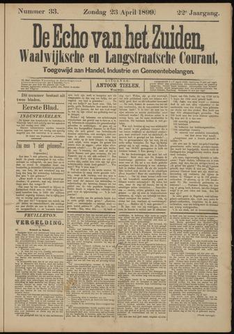 Echo van het Zuiden 1899-04-23