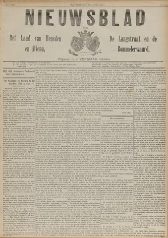 Nieuwsblad het land van Heusden en Altena de Langstraat en de Bommelerwaard 1890-01-18