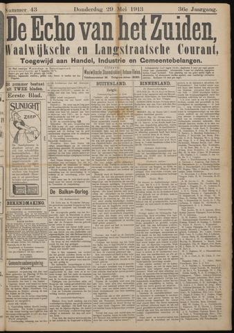 Echo van het Zuiden 1913-05-29
