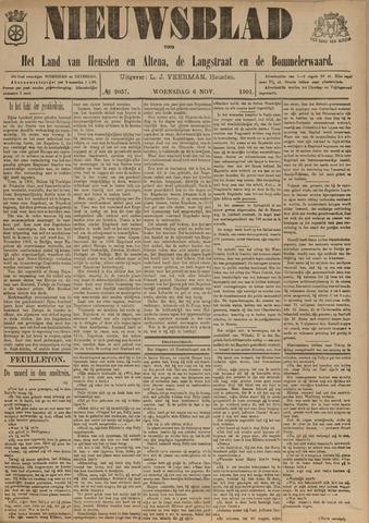 Nieuwsblad het land van Heusden en Altena de Langstraat en de Bommelerwaard 1901-11-06