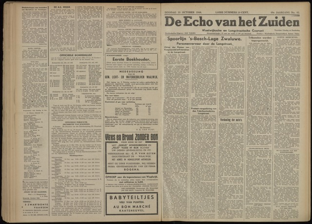 Echo van het Zuiden 1946-10-15