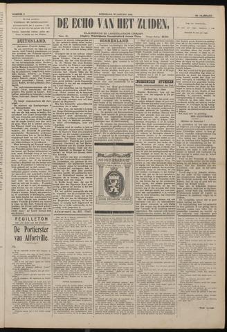 Echo van het Zuiden 1922-01-18