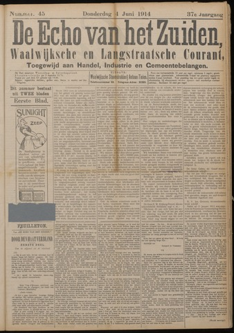 Echo van het Zuiden 1914-06-04