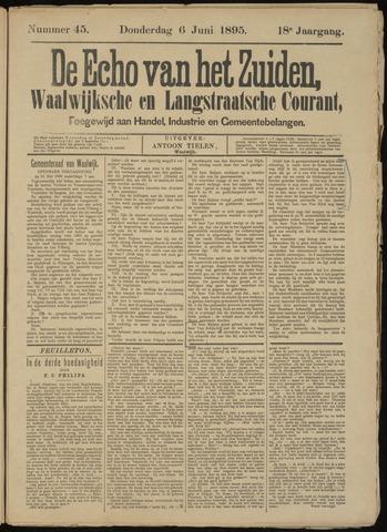Echo van het Zuiden 1895-06-06