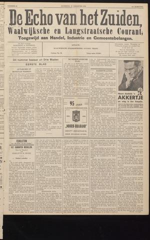 Echo van het Zuiden 1938-08-27