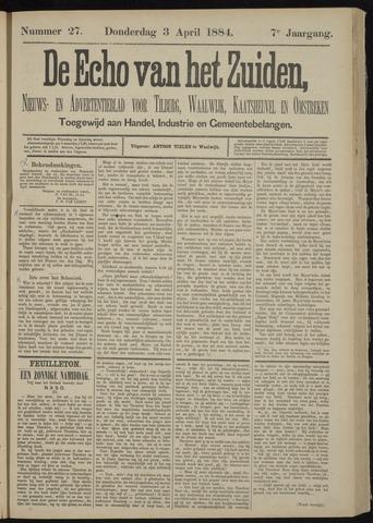 Echo van het Zuiden 1884-04-03