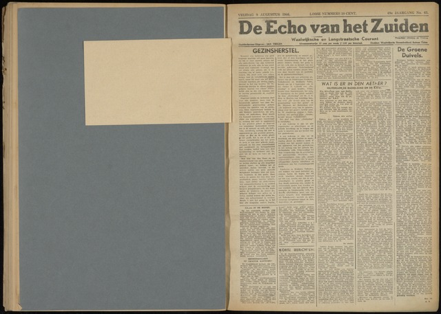 Echo van het Zuiden 1946-08-09