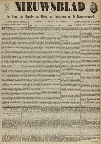 Nieuwsblad het land van Heusden en Altena de Langstraat en de Bommelerwaard 1893-04-26