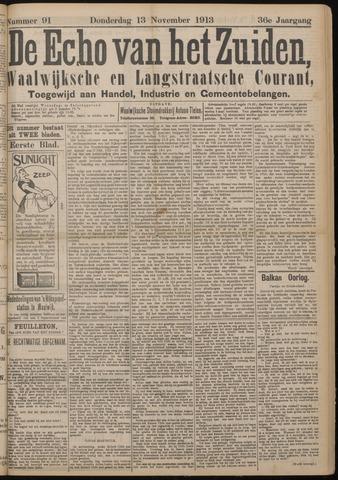 Echo van het Zuiden 1913-11-13