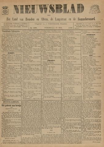 Nieuwsblad het land van Heusden en Altena de Langstraat en de Bommelerwaard 1896-05-27