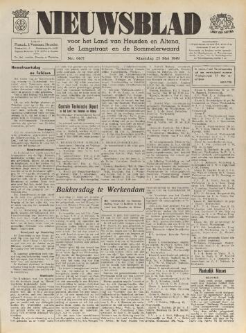 Nieuwsblad het land van Heusden en Altena de Langstraat en de Bommelerwaard 1949-05-23