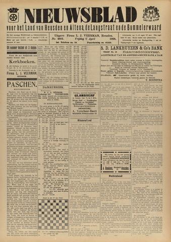 Nieuwsblad het land van Heusden en Altena de Langstraat en de Bommelerwaard 1928-04-06
