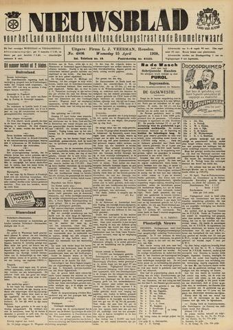 Nieuwsblad het land van Heusden en Altena de Langstraat en de Bommelerwaard 1928-04-25
