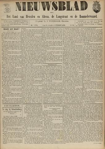 Nieuwsblad het land van Heusden en Altena de Langstraat en de Bommelerwaard 1893-02-04