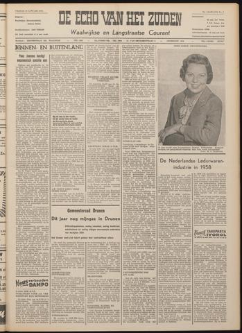 Echo van het Zuiden 1959-01-30