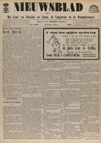 Nieuwsblad het land van Heusden en Altena de Langstraat en de Bommelerwaard 1915-06-05