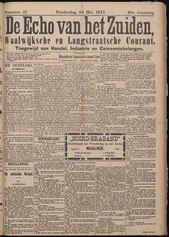 Echo van het Zuiden 1917-05-24