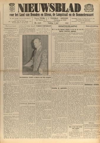 Nieuwsblad het land van Heusden en Altena de Langstraat en de Bommelerwaard 1943-07-02