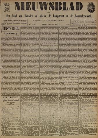 Nieuwsblad het land van Heusden en Altena de Langstraat en de Bommelerwaard 1894-06-30