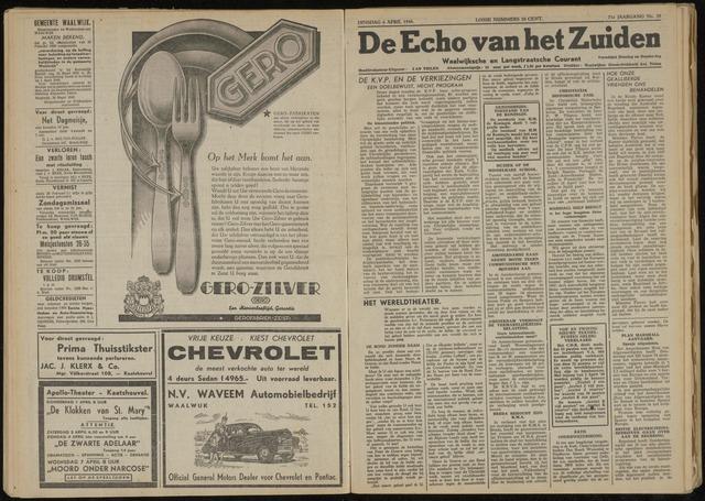Echo van het Zuiden 1948-04-06
