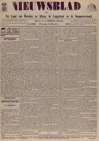 Nieuwsblad het land van Heusden en Altena de Langstraat en de Bommelerwaard 1910-12-14