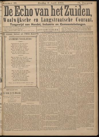 Echo van het Zuiden 1905-04-09