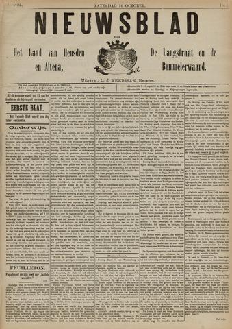 Nieuwsblad het land van Heusden en Altena de Langstraat en de Bommelerwaard 1891-10-10