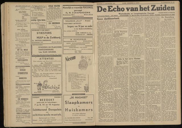 Echo van het Zuiden 1948-08-10
