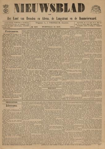 Nieuwsblad het land van Heusden en Altena de Langstraat en de Bommelerwaard 1905-10-11