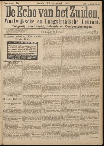 Echo van het Zuiden 1905-02-19