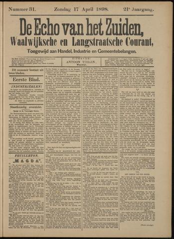 Echo van het Zuiden 1898-04-17