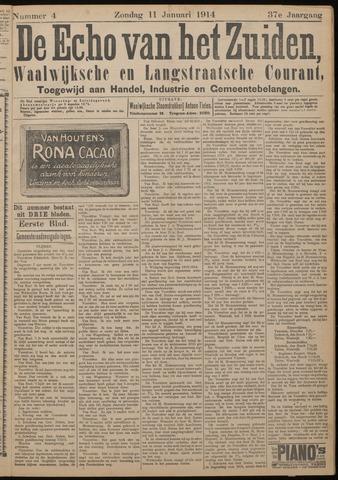 Echo van het Zuiden 1914-01-11