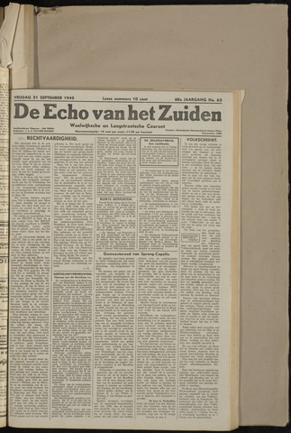 Echo van het Zuiden 1945-09-21