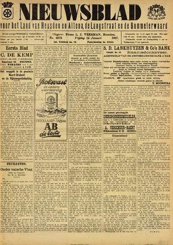 Nieuwsblad het land van Heusden en Altena de Langstraat en de Bommelerwaard 1927-01-14