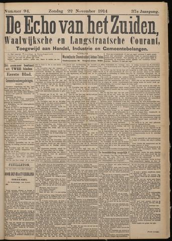 Echo van het Zuiden 1914-11-22
