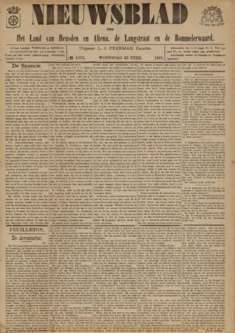 Nieuwsblad het land van Heusden en Altena de Langstraat en de Bommelerwaard 1901-02-20