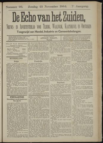 Echo van het Zuiden 1884-11-23