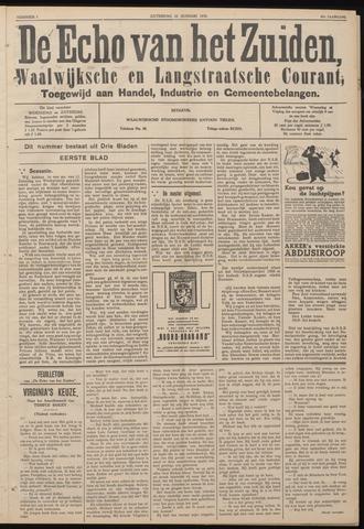 Echo van het Zuiden 1938-01-22
