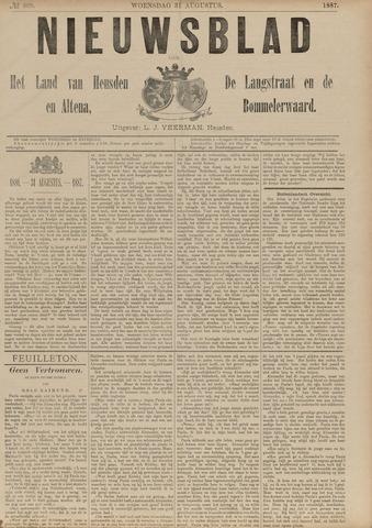 Nieuwsblad het land van Heusden en Altena de Langstraat en de Bommelerwaard 1887-08-31