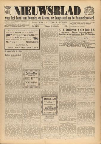 Nieuwsblad het land van Heusden en Altena de Langstraat en de Bommelerwaard 1932-10-21