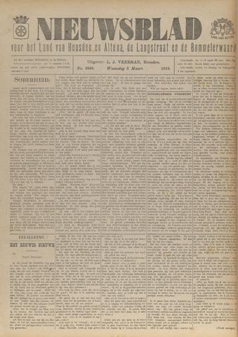 Nieuwsblad het land van Heusden en Altena de Langstraat en de Bommelerwaard 1919-03-05
