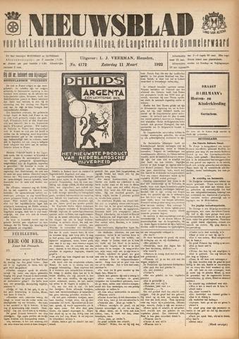 Nieuwsblad het land van Heusden en Altena de Langstraat en de Bommelerwaard 1922-03-11