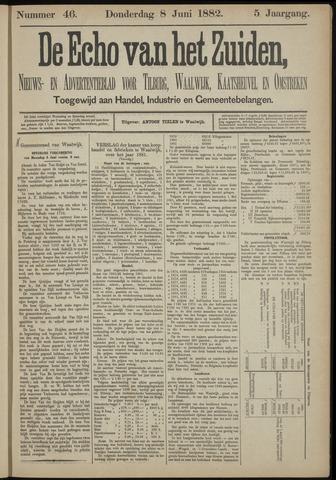 Echo van het Zuiden 1882-06-08