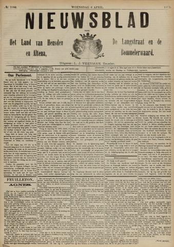 Nieuwsblad het land van Heusden en Altena de Langstraat en de Bommelerwaard 1892-04-06