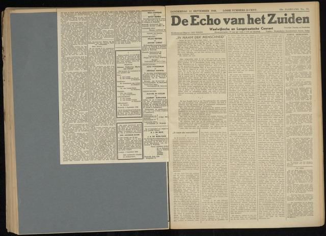 Echo van het Zuiden 1946-09-12