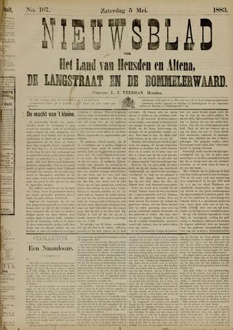 Nieuwsblad het land van Heusden en Altena de Langstraat en de Bommelerwaard 1883-05-05